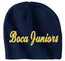 Boca Juniors - Custom Heat Pressed Custom Beanie CP95 D30568218E20