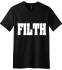 FILTH - Tee - Custom Heat Pressed V-Neck Tee 64E2204B53B1