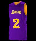Lakers Logan Los Angeles Lakers Youth Reversible Basketball Jerseys - A105LY-LAKERS