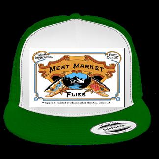 SS Yupoong-Classics-Trucker-Mesh Hat-Flat Bill -5 Panel 6006-Flex-Fit-Cap