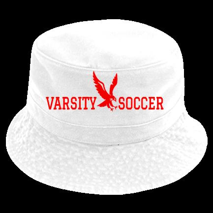 20c5d473355edc varsity soccer - Custom Heat Pressed Short Brim Custom Bucket Hats - 961  40BF251ADE43