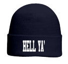 HELL YA' - Custom Screen Printed Otto Beanie 82-480 ECCB7A8CD237