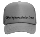 Healthy Hounds Adventure Group - Custom Screen Printed Mesh Trucker Hat 32-467 C703139C1CC4
