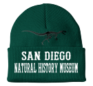 "SAN DIEGO NATURAL HISTORY MUSEUM-SAN DIEGO - Custom Heat Pressed 3"" Fold Up Cuff Beanie - CP90 0AA7F990087C"