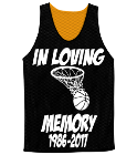 Candice Jackson-42-In Loving-Memory-1986-2017 - Custom Screen Printed Adult Reversible Basketball Jerseys - NF1270 F844ACFCC7F3