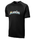23-Trevor - Custom Heat Pressed Marlins Adult MLB Replica T-Shirt - 5300 95009435DD37