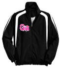 Gia-MISFITS-5 - Custom Heat Pressed Youth Customized Colorblock Raglan Jacket  - YST60 CA0DD065F739