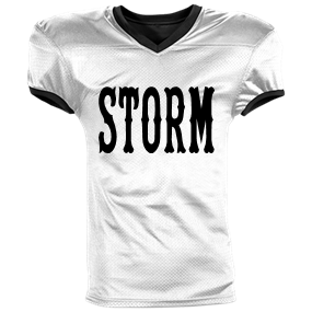 STORM - Custom Heat Pressed Reversible Football Jersey Adult -1357  65E10C796D5A a23c6a1ef
