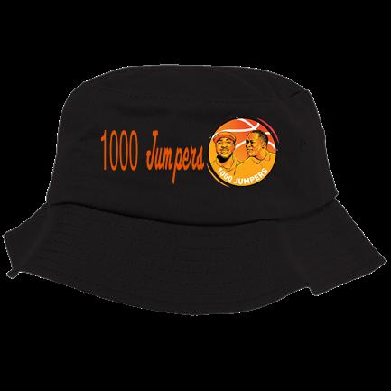 698cb3e6 1000 Jumpers black bucket - Custom Heat Pressed Bucket Hat - 5003 One Size  Fits All 3EC0D3333FC5A