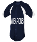 WEAPONS - Custom Heat Pressed Adult Mustang Baseball Jersey - 1858B 4970872C5EB6