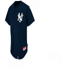 ANDREWS-ANDREWS -ANDREWS  - Custom Embroidered Yankees Full Button Baseball Jersey - Adult D0C2050BC467