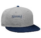 Blessing upon blessing - Custom Heat Pressed Snapback Flat Bill Hat - 125-978 955FA416630E