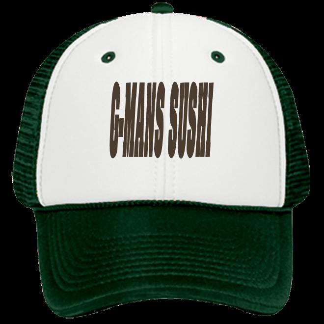 4db5ae2fb3715 G-MANS SUSHI-G-MANS SUSHI - Custom Screen Printed Low Pro Trucker Style  Otto Cap 83-471 1D5CC46093D3