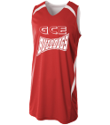 GCE-Bulldogs Hornet Green Youth Double Double Reversible Jersey