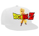 Goku - Custom Heat Pressed Snapback Flat Bill Hat - 125-978 EFE352DC2318