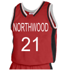 NORTHWOOD21 DISCONTINUED Womens Basketball Jersey - Jammer Series - Teamwork Athletic - 1439