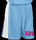 KidsKidsGettinBuckets DISCONTINUED Adult Dazzle Basketball Shorts - 11