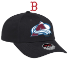 BoSox & CAvalanche - Custom Embroidered Adult Stretchable Baseball Cap - 11-1164 CD536F53D44C
