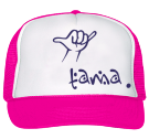 Tama pink/purple/white - Custom Heat Pressed Trucker Hat 39-169 1BB462B71425