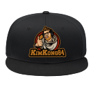 kimmelim - Custom Heat Pressed Snap Back Flat Bill Hat - 125-1038 019ACBBCF83A