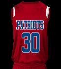 patriots-3030 Youth V-Neck Custom Basketball Jerseys