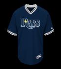 Dee Custom Tampa Bay Rays Two-Button Jersey - Tampa Bay Rays-MAI383