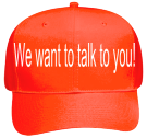 We-want-to-talk-to-you Neon Pro Style Hat Otto Cap