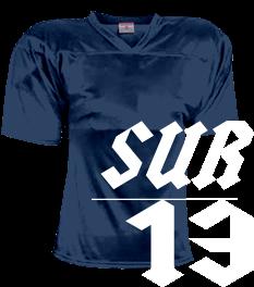 702f27b8c06 Surenos 13 - Custom Heat Pressed Adult Flag Football Jersey - Teamwork  Athletic - 1321 F8164E1A2EE9