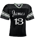 James-13 - Custom Heat Pressed YouthTeam Football Jersey - Teamwork Athletic -1314 FECD30F764D4