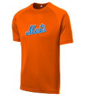 Daddy Qira-5 - Custom Screen Printed Mets Adult MLB Replica T-Shirt - 5300 059AC959488F