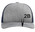 2b - Custom Embroidered Cotton Twill Mesh Snapback - 112 7BC8595D72E9