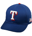 Anabella - Custom Heat Pressed Texas Rangers - Official MLB Hat for Little Kids Leagues 92841294390A
