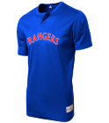 CLARK-CLARK-34 - Custom Screen Printed Rangers MLB 2 button Youth Jersey - MLB181 C6C4DD3D1AE6