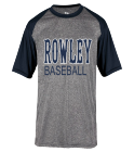 Navy Rowley Tee2 - Custom Heat Pressed Adult Heathered Sport Tee - 4341 4640215CADC5