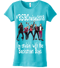 #BSBCruise2018-I'm cruisin' with the Backstreet Boys-I'm cruisin' with the-Backstreet Boys-#kentuckysfinestcousinsgirl - Custom Heat Pressed Junior Ladies Crewneck Tee - DT234C 2A146322E951