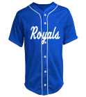 Royals-1.3 - Custom Heat Pressed Adult Full Button Baseball Jersey - N4184 7D808900D5A7