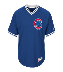 Nazzo-23 - Custom Heat Pressed Adult Cubs V-Neck Cool Base Jersey - MG008-CUBS 2C817FC4AD21