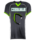 COBRAMAN-01 - Custom Heat Pressed Youth Tackle Football Jerseys - 1303 9A9114E35C05