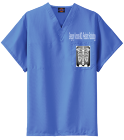Greg - Custom Heat Pressed Dickies Medical Scrubs - 83706 2E9B2B107E9C
