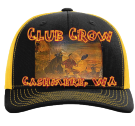 Club Crow-Cashmere, WA - Custom Heat Pressed Cotton Twill Mesh Snapback - 112 4B4CBF5D17D2