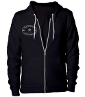 Zip Hoody - Custom Heat Pressed American Apparel Zip Hoodie 21C3C20F3B37