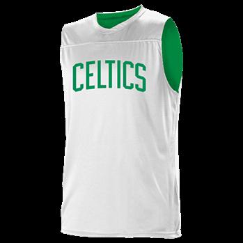 cheaper 607b7 8c85e Beggans -18-2023 - Custom Heat Pressed Boston Celtics Youth Reversible  Basketball Jerseys - A105LY-CELTICS Youth Small