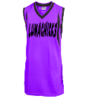 Lunachicks-Purcell-1 Youth 2-Color Reversible Basketball Jersey