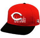 luka chulla - Custom Heat Pressed Cincinnati Reds - Official MLB Hat for Little Kids Leagues 8D5FE28C39BA