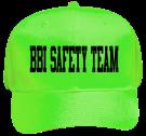 BBI-Safety-Team Neon Pro Style Hat Otto Cap
