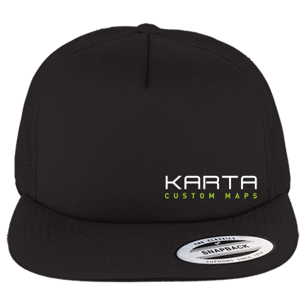 c0d4265d2eb Karta Foam Trucker - Custom Heat Pressed Foam Front Trucker Hat - 6005FF  7E2ACFDE9EF1