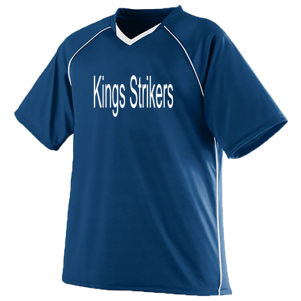 13a69a2fe Kings Strikers2 Youth - Custom Heat Pressed Youth Soccer Jersey - 215  E0CAD0BE6A56