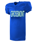 GROSSMONT-00-00 - Custom Screen Printed Youth Football Jersey  - 9561 EBC25CDA228D