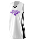 player-00 - Custom Heat Pressed Girls Wicking Mesh Jersey  - 528 F57EEFA40D1A