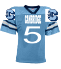 CAMBRIDGE-5-5-POLK - Custom Heat Pressed YouthTeam Football Jersey - Teamwork Athletic -1314 9BEDB9125F48